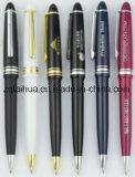 Изготовленный на заказ пер офиса промотирования, черный шариковой ручки (TH-pen049)