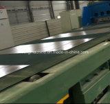 Machine de Decoiler/plaque en acier coupée à la ligne de longueur