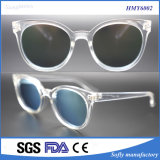 Soflyingの透過フレームの2cレンズが付いているプラスチック注入のサングラス