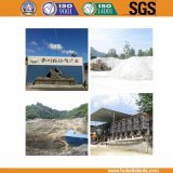 1.6-22um solfato di bario naturale usato della polvere del rivestimento di plastica 96%+ Baso4