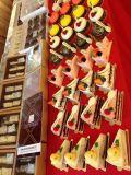 Caramella di cioccolato del giocattolo per la torta ed il regalo
