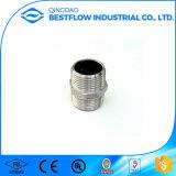 Raccords de tuyaux en acier inoxydable 304 ou 316 Raccord hexagonal mâle et femelle