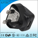 세륨 증명서 5V 1A를 가진 Kptec AC/DC USB 충전기