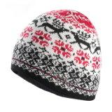 Шлема Beanie жаккарда шлема зимы шлем Beanie шлема шлема POM Knit акрилового изготовленный на заказ связанный POM