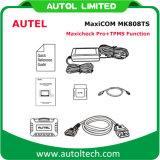 Función en línea Mk 808ts del sensor del neumático del sensor del monitor de la presión de neumático de la actualización de la herramienta de diagnóstico de Autel Maxicom Mk808ts TPMS