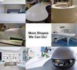 Surface solide acrylique blanche d'atterrisseur Corian de constructeur chinois