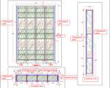 호텔 가구를 위한 현대 작풍 스테인리스 바 술 저장실 내각