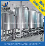 Machine automatique de nettoyage de CIP pour la production de laiterie