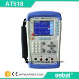 측정 범위 10micro 옴 200k 옴 (AT518L)를 가진 Applent 마이크로 저항전류계