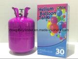 使い捨て可能なシリンダー気球のヘリウムのエクスポートイラン
