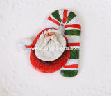 Enfeites de Natal Polyresin Fridge Magnet for Promotion (YH-RFM021)