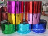 Film coloré métallisé de polyester pour feuilleter