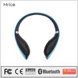 Наушники Stereo наушника HiFi беспроволочного Bluetooth 4.0 шлемофона Mrice басовые