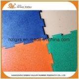 Le caoutchouc non-toxique de puzzle couvre de tuiles les couvre-tapis en caoutchouc de plancher pour la gymnastique