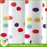 Tessuto in poliestere Colorful Polka DOT Hotel Curtain Shower