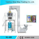 Máquina de empacotamento automática vertical para o alimento