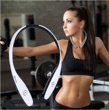 Auriculares estereofónicos de Bluetooth da garganta portátil dos esportes ao ar livre com função contra-roubo