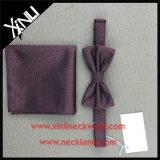 Relation étroite de proue du noeud 100% et grand dos de poche tissés par soie fabriquée à la main parfaite