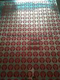 Imprensa de impressão da tela de uma superfície plana