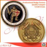 A polícia militar do exército dos EUA desafia a moeda