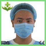 Медицинские 3ply Non сплетенное Earloop и связывают вверх лицевой щиток гермошлема