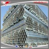Línea de acero tubo del HDG para el gas o el agua de la fábrica de China con el buen galvanizado