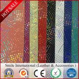 단화 갑피를 위한 새로운 패턴 PVC 합성 가죽