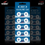 OEM van de fabriek Alkalische Batterij AG7