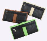 Kontrast-Farbe PU Dame Wallet/Karten-Mappe/Frauen-Fonds