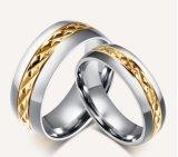 Anéis feitos sob encomenda do titânio da jóia do estilo novo