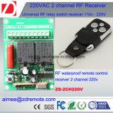 trasmettitore di CA rf di 2channel 220V e ricevente 433/315MHz