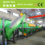 Film di materia plastica residuo del PE pp che lava riciclando macchina