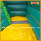 サファリの子供(AQ01600)のための膨脹可能なスライドのおもちゃの膨脹可能な弾力があるスライド