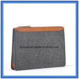 Мешок портфеля детенышей подгонянный конструкцией чувствуемый шерстями вскользь, горячие мешки руки промотирования с застежкой -молнией