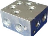 CNC Metaal die de Delen machinaal bewerken die van de Precisie van het Roestvrij staal voor Machine van de Verpakking van de Vliegtuigen van de Motor de Model worden gebruikt