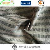 Поставщик подкладки жаккарда ткани подкладки пальто зимы полиэфира 100