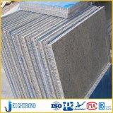 Comitato di alluminio di marmo di pietra leggero del favo per costruzione