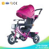 1つの乳母車に付き4つの最もよい品質の三輪車の赤ん坊Trike