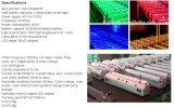 9PCS電池式の無線電信DMXの壁の洗濯機ライト
