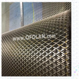 Maglia dell'elettrodo ampliata titanio per il trattamento di acque di rifiuto (5X12mm)