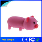 Cartoon Cute Silicone Pig Shaped PVC Real Capacity 8GB Pendrive
