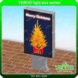 LEDのアルミニウムプロフィールのライトボックスを広告する太陽エネルギー