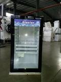 100L 유리제 문 호텔을%s 소형 바 냉장고