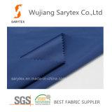 Tecido de cetim poliéster 100% / Tecido de pongee / Tecido de tafetá para vestuário a prova de queda