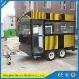 Remorque mobile de cuisine d'aliments de préparation rapide de remorque du café Ys-Ho350