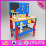 A tabela de madeira da ferramenta de 2016 crianças novas do projeto brinca W03D076A