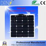 comitato solare flessibile di 18V 50W per la batteria 12V