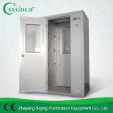ステンレス鋼(FLB-1200)が付いている自動吹く空気シャワーのクリーンルーム