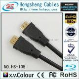 HDMI transparentes Audiohochgeschwindigkeitskabel