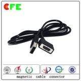 Conectores de cabo magnético 4pin personalizados para telefone móvel